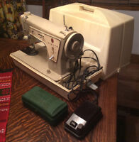 SINGER machine coudre FASHION MATE 237 SEWING heavy duty