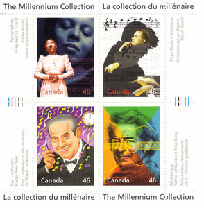 Canada Stamps - The Millennium Collection - Extraordinary Entert