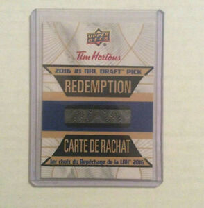 Swapping/Selling Tim Horton's Hockey Cards - HARBOUR GRACE AREA