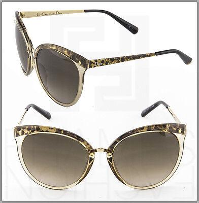 CHRISTIAN DIOR Frozen 1 BCLHA Transparent Ort Brown Gradient Sunglasses