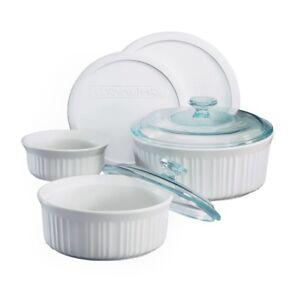 Corningware French White® 7-pc Casserole Set