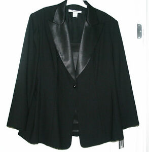 New never worn - Black Tuxedo Jacket size 20+ London Ontario image 1