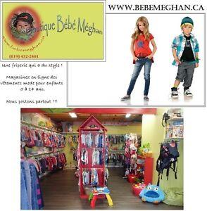 www.bebemeghan.ca - Vêtements de maternité & Enfants 0 à 14 ans Saint-Hyacinthe Québec image 2