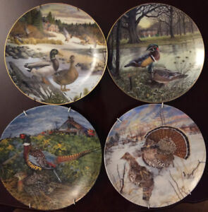 1980s Knowles Collector plates