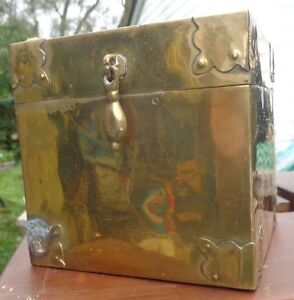 Solid brass box and more