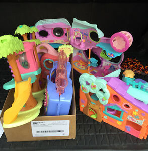 Littlest Pet Shop Playhouses with Pets