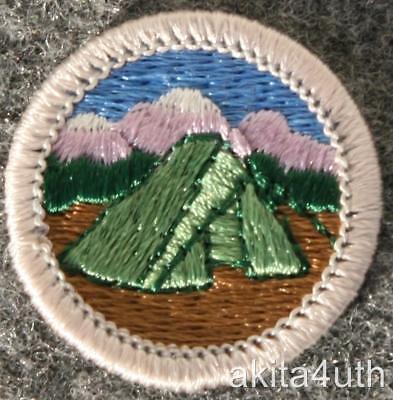 BSA  Camping Merit Badge - Type H - Boy Scout