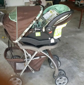 Baby Stroller and matching car seat