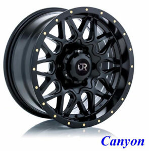 ROUES (Mags) RTX Offroad Canyon Noir satin 20 pcs  6-135