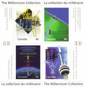 Canada Stamps - The Millennium Collection - Engineering & Techno West Island Greater Montréal image 1