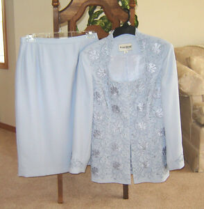 Bellissima Dress, Bianca Nygard Jacket, Dressy Suit - sz 6, 8 Strathcona County Edmonton Area image 9