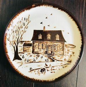 Assiette en céramique de Beauce