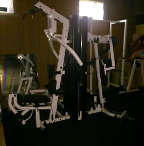 Body Solid WHOLE GYM SYSTEM (EXM3000LPS) **like new!!!!!**