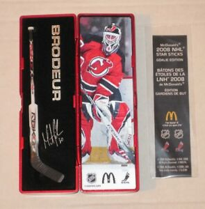 Petit bâton de hockey, McDonald, MARTIN BRODEUR à collectionner