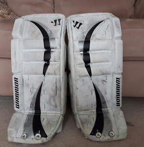 """23+1"""" Warrior youth goalie pads"""