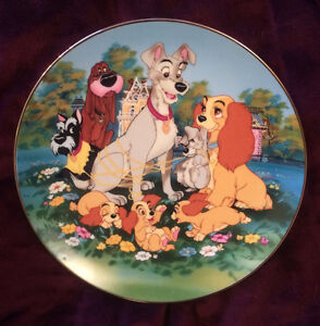 Lady and the Tramp (1955) - Collector's Plate