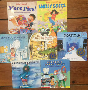 ROBERT MUNSCH Children's Books $4 each or all 7 for $20