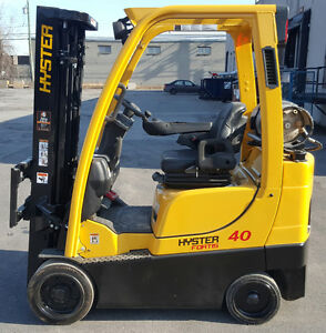 LIFT HYSTER 4000 CHARIOT ELEVATEUR FORKLIFT TRUCK 2011