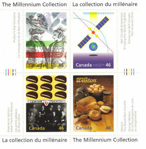 Canada Stamps - The Millennium Collection - Enterprising Giants West Island Greater Montréal image 1