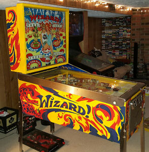 1975 Bally Wizard Pinball Machine For Sale