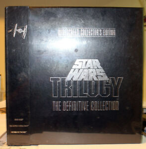 Star Wars:The Definitive Collection(Laserdisc, Widescreen) RARE