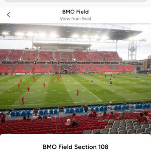Toronto FC ( Tickets Section 108 Lower Bowl) Aug 24 2019