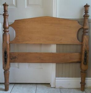 Antique Solid Wood Headboard (Single/Twin)