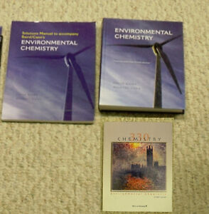 Environmental Chemistry 4E Textbook,Solutions Manual&Study Guide