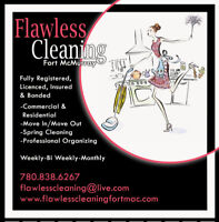 Flawless Cleaning - Full Time Team Member Needed
