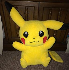 Pokemon Yellow Pikachu 16 Inch Plush Stuffed Doll Toy