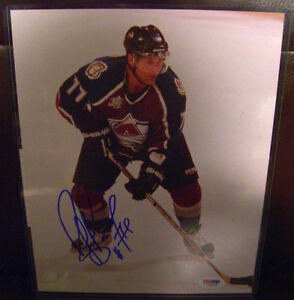Bruins Avalanche RAY BOURQUE Autograph Signed Photo COA PSA/DNA