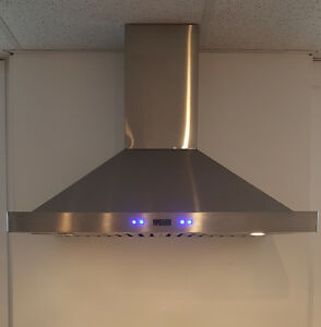 Hotte stainless