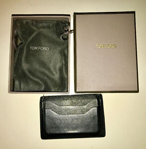 Tom Ford Calf Leather Cardholder
