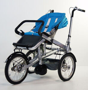 TAGA-  bike style goes from bike to stroller