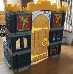 Mega Bloks headboard / child size adventure castle