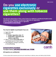 Recruiting for research: Do you use e-cigarettes?