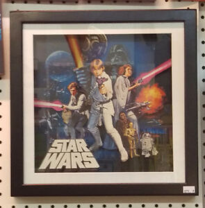 Star Wars Wall Mounted Picture