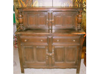 Ercol Court Cupboard - Old Colonial - Wall Unit – Dresser