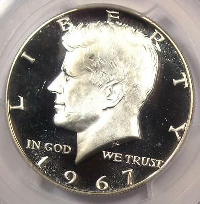 Click now to see the BUY IT NOW Price! 1967 SMS KENNEDY HALF DOLLAR   PCGS SP68 DEEP CAMEO MS68 DCAM   $10,000 VALUE