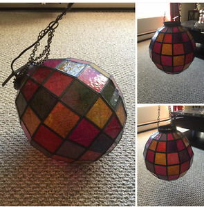 Awesome stained glass light