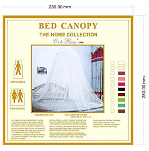 Round Hoop Bed Canopy Netting Mosquito Net