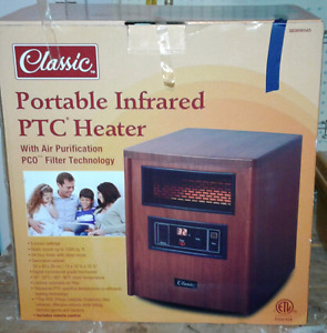 Classic Infrared Heater/End Table