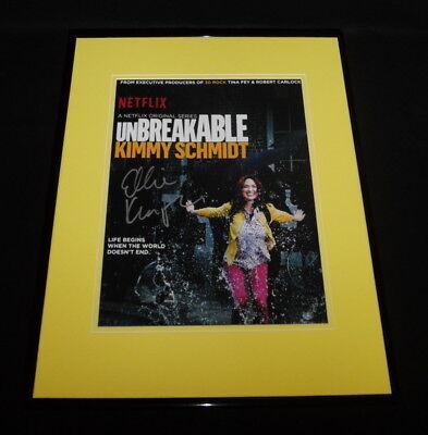 Ellie Kemper Signed Framed 16X20 Photo Display Aw Unbreakable Kimmy Schmidt