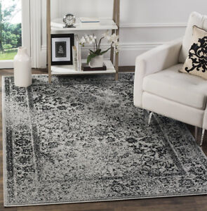 Oriental Vintage Distressed Area Rug