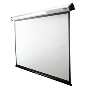 """Elite Screens - 100"""" inch Manual Projection Screen M100XWH"""