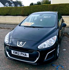 2012 Peugeot 308 1.6 diesel