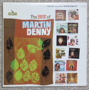 The Best of Martin Denny - Vintage Exotica Lounge Music Vinyl LP