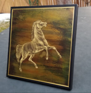 Rudy Lechleiter Raring Stallion Horse Contemporary Metal Art Wal