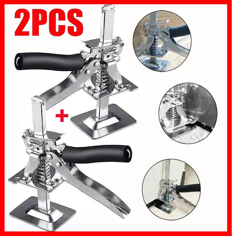 Arm Stainless Steel Tile Locator Wall Leveling Lift Tool 2 x Viking LABOR-SAVING