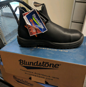 BLUNSTONES - CSA GREEN PATCH WORK BOOTS